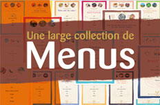 Menu collection